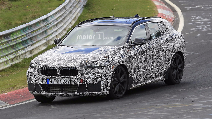 2018 BMW X2 Spied Riding Low At The Nurburgring