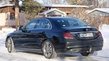 2018 Mercedes C-Class facelift spy photo