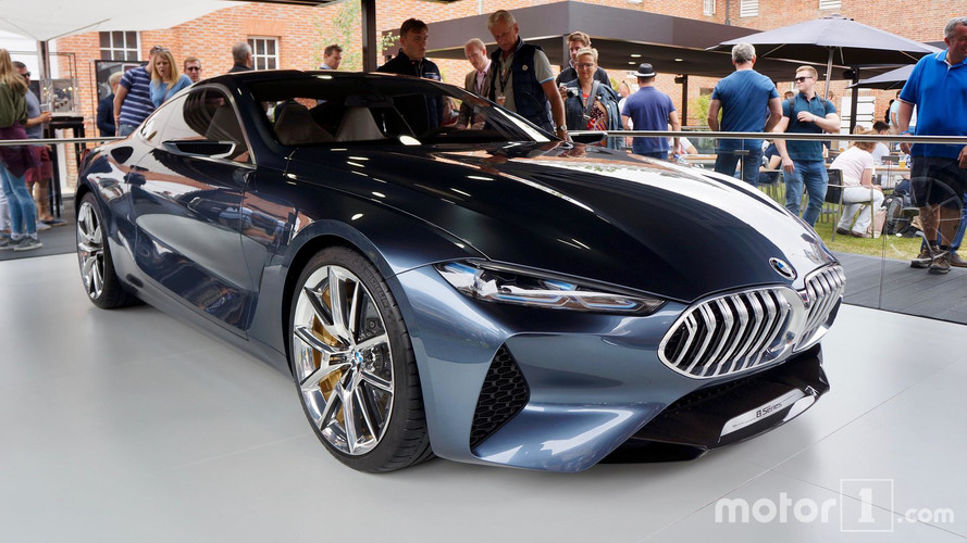 bmw 8 series concept looks stunning at goodwood. Black Bedroom Furniture Sets. Home Design Ideas
