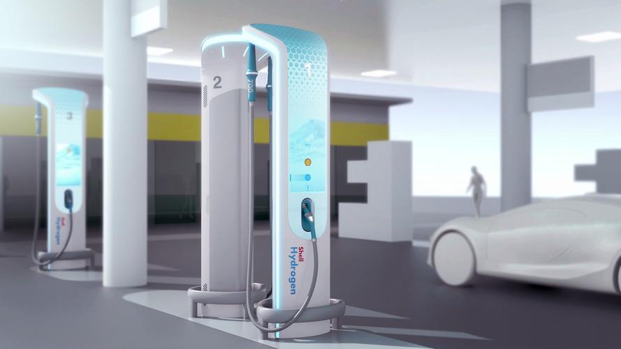 BMW geleceğin hidrojen yakıt istasyonunu tasarladı