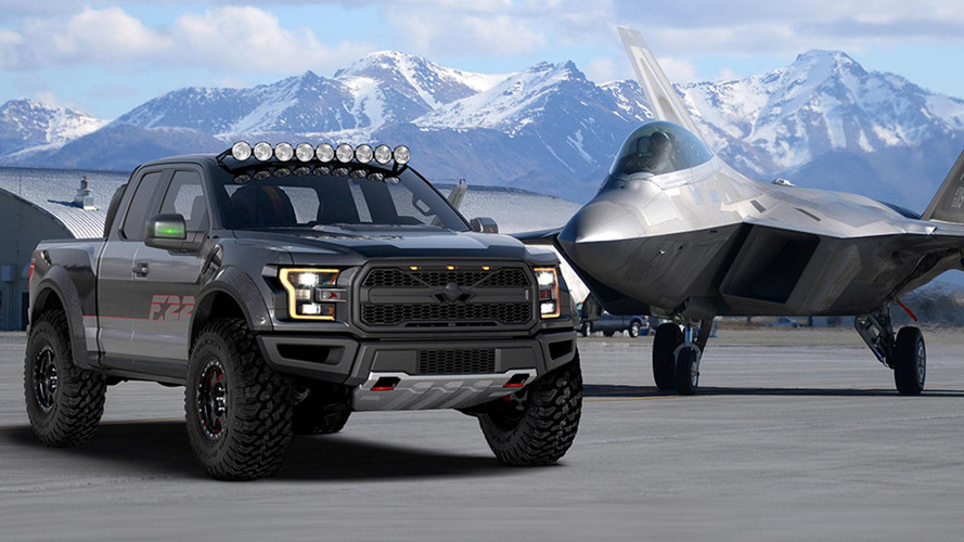 Unique Ford F-150 Takes Off As F-22 Raptor For Airventure Charity