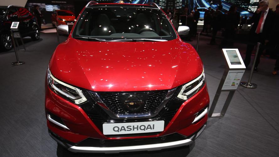 Makyajlı Nissan Qashqai tanıtıldı
