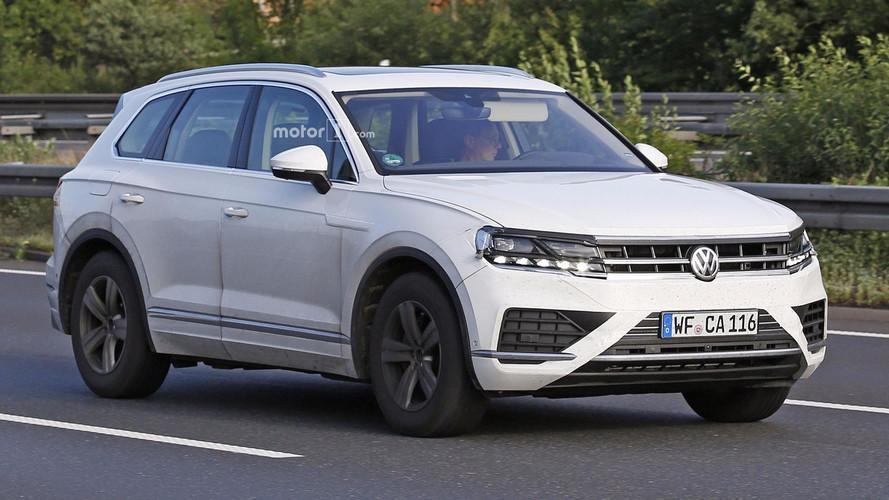 El Volkswagen Touareg 2017 se muestra casi sin camuflaje