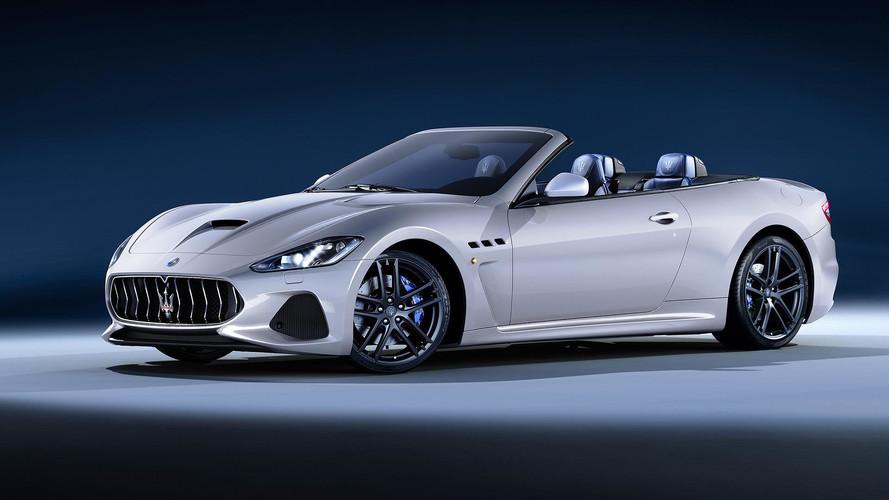 2018 Maserati GranTurismo Convertible Debuts At Goodwood