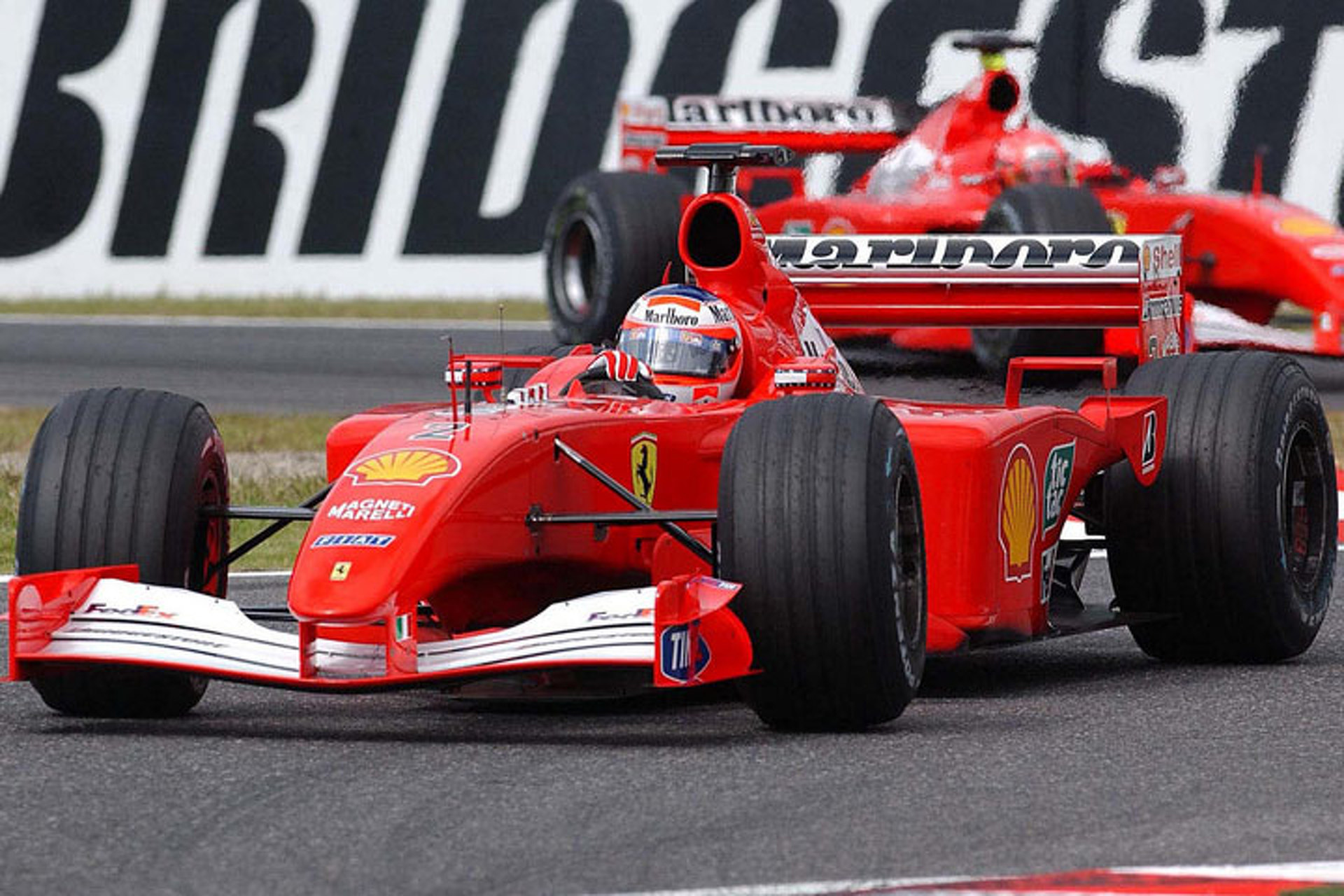 Up for Sale: Ferrari's 2001 Championship-Winning F1 Car