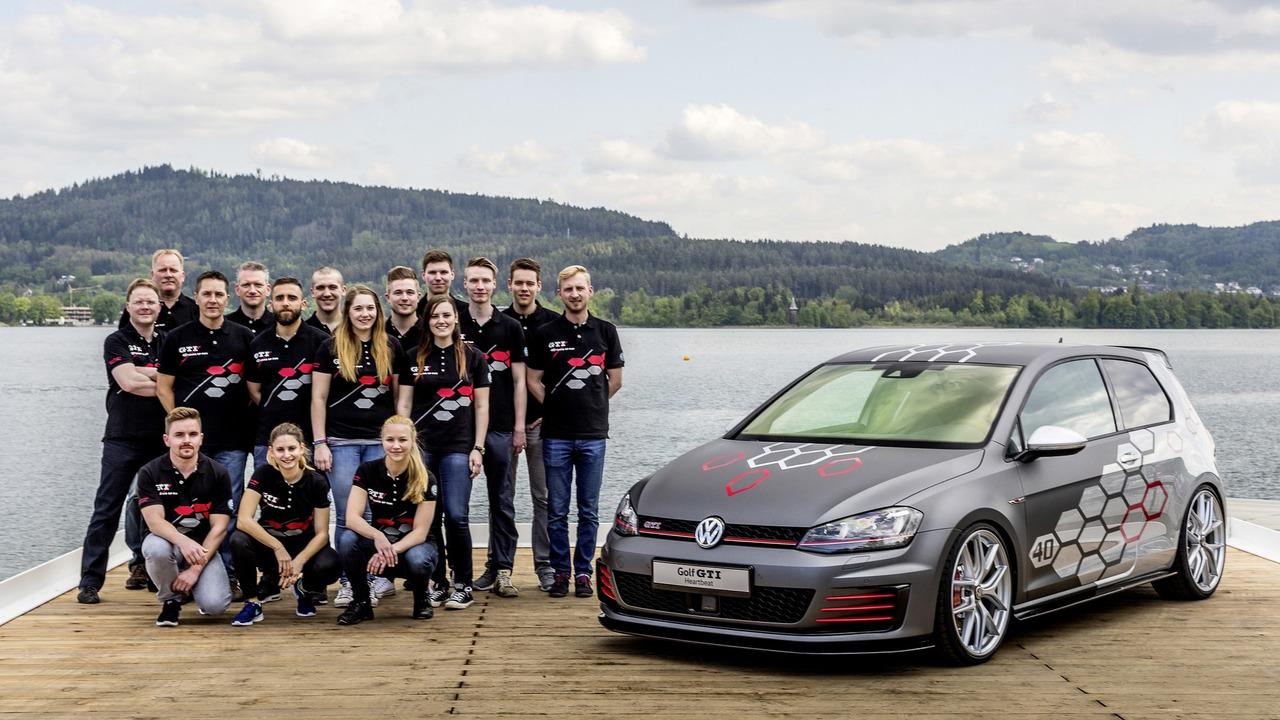 Apprentice-built VW Golf GTI Heartbeat