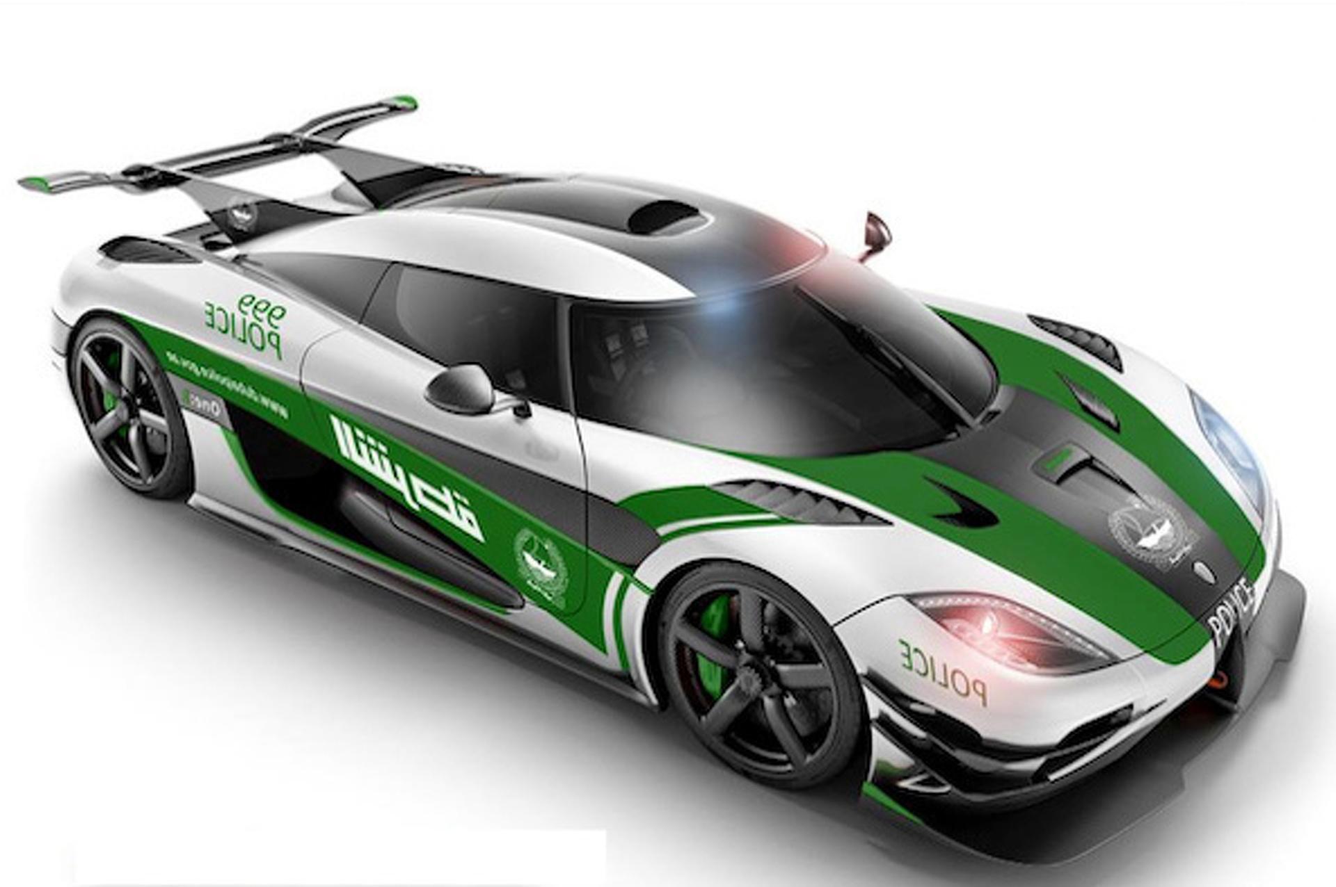 Police Car Website >> Koenigsegg Agera One:1 Gets A Dubai Police Makeover