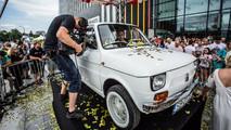 Tom Hanks'in Carlex Design imzalı Fiat 126p'si