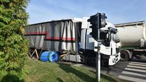 Kamionos baleset