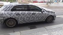 2019 Mercedes A-Class prototype in Prague
