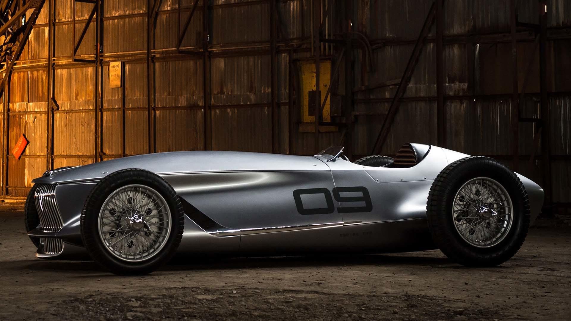Infiniti Rewrites History With Retro Prototype 9 Racer