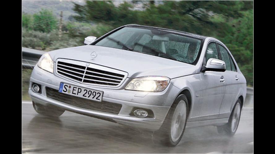 Mercedes erteilt Haftbefehl: C-Klasse mit Allradantrieb 4matic