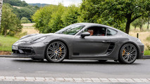 2018 Porsche 718 Cayman GTS spy photo