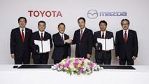 Toyota e Mazda fecham parceria