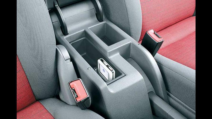 Modelle mit iPod- und USB-Vorbereitung bei Volkswagen