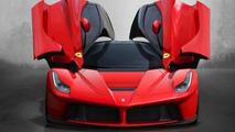 Ferrari F70 render (not official)