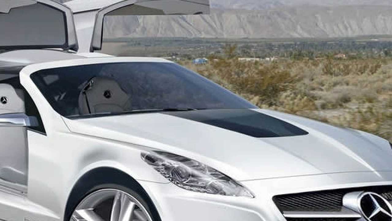Mercedes SLK Gullwing
