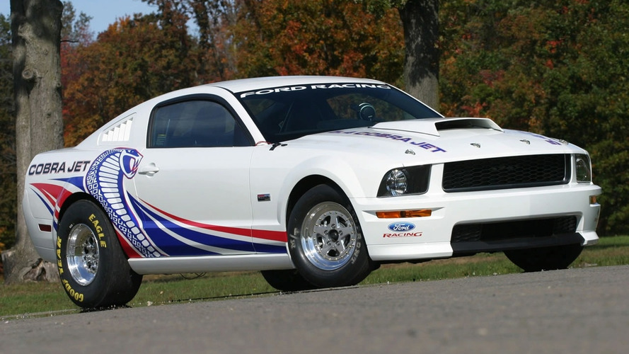 2008 Cobra Jet Mustang Drag Racer at SEMA