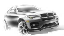 BMW X6 Interceptor by Met R illustration, 1280, 28.05.2010