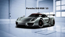 Porsche 918 RSR Race Car Rendering