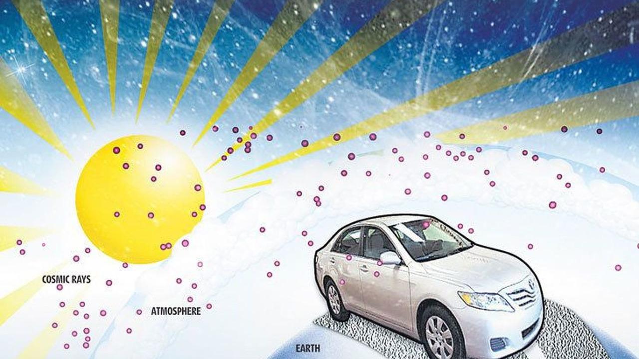 Toyota cosmic rays illustration 16.03.2010
