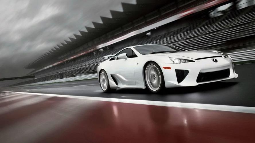 Lexus LFA successor isn't coming anytime soon