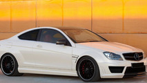 Mercedes-Benz C63 AMG Coupe Black Series UPDATE: rims are darker now, and the body kit has extended