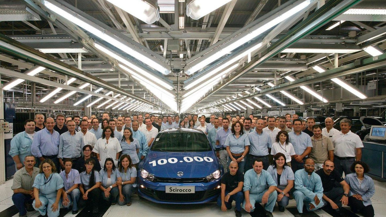 Volkswagen 100 bininci Scirocco III'ü üretti