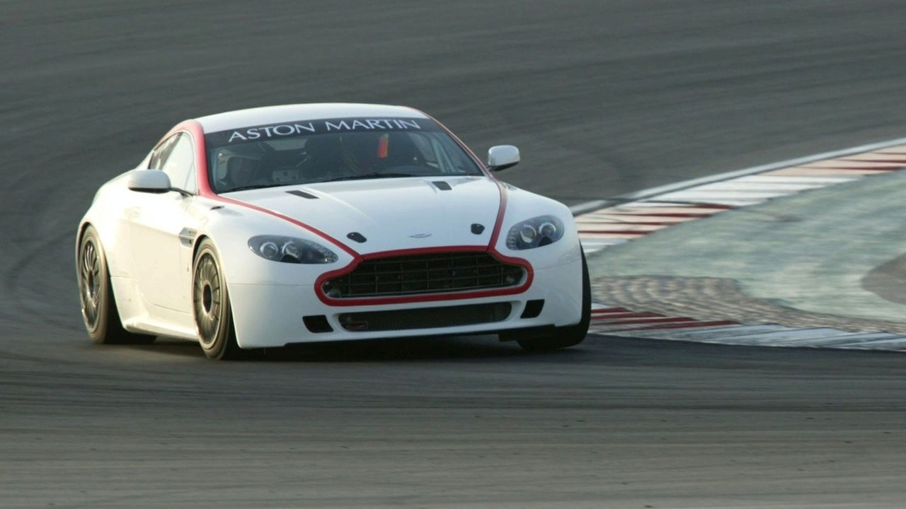 Aston Martin Racing 2009 specification Vantage GT4