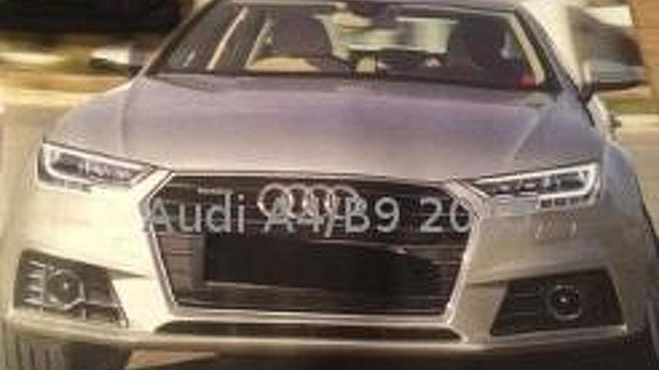 2015 Audi A4 (not confirmed)