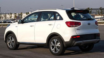 Production Kia KX3 spy photo / Autohome