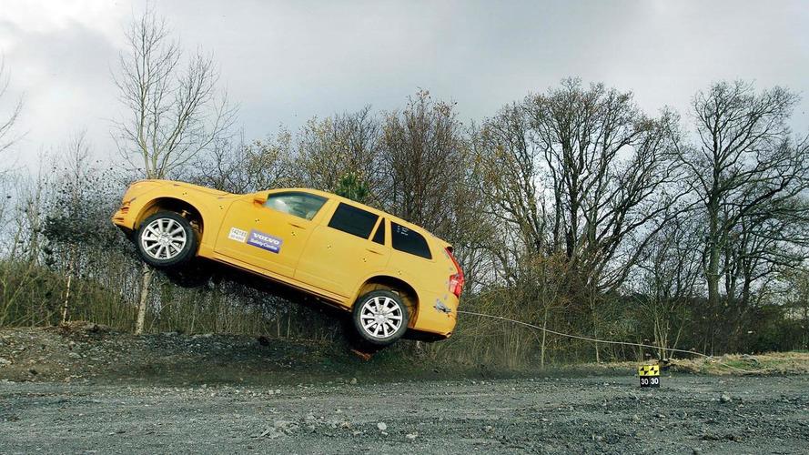 Volvo highlights their Robocoaster crash testing rig [videos]