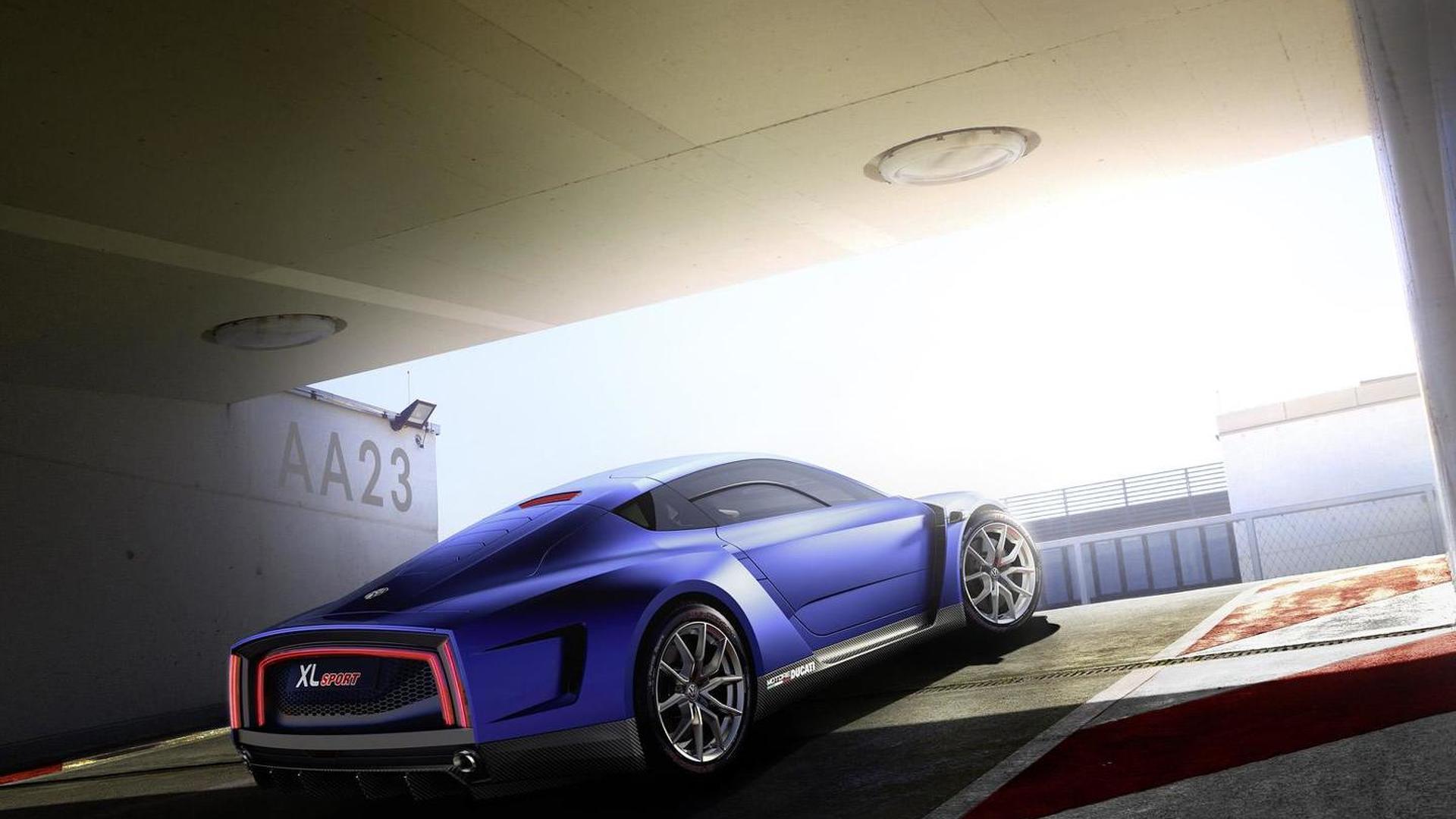 Суперкар Volkswagen XL Sport