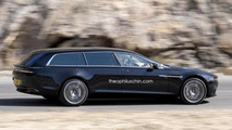 Aston Martin Lagonda Shooting Brake render