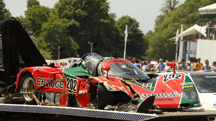 Los 10 accidentes más espectaculares en Goodwood