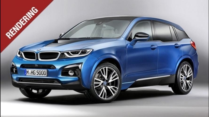 BMW i5, il SUV elettrico di domani