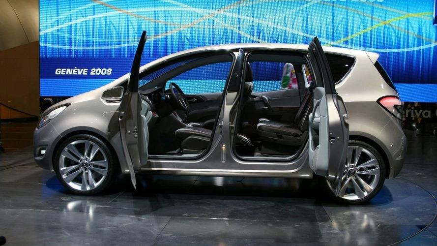 Opel Meriva Concept Revealed