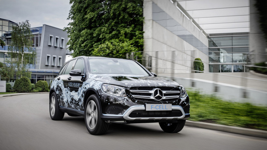Mercedes GLC F-Cell, il SUV a idrogeno diventa plug-in
