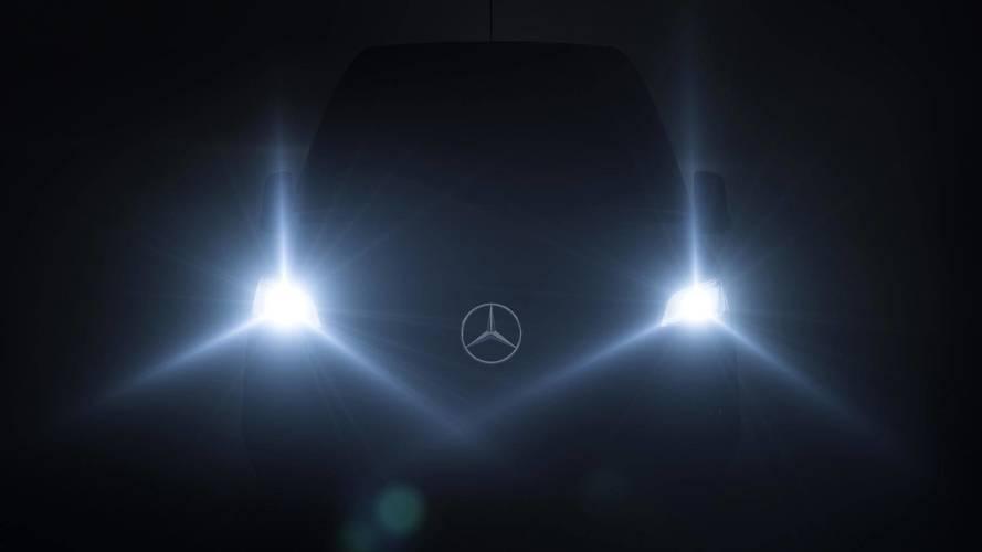 [GÜNCEL] Yeni Mercedes Sprinter 6 Şubat'ta tanıtılacak