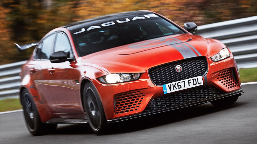 Jaguar XE SV Project 8, record al Nurburgring in 7'21