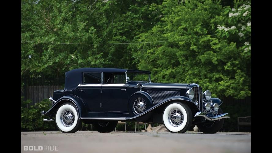 Auburn Twelve Custom Phaeton Sedan