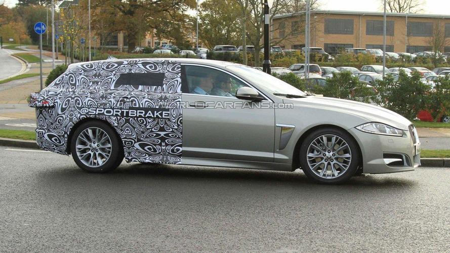 Jaguar XF Sportbrake teased on sign-up page