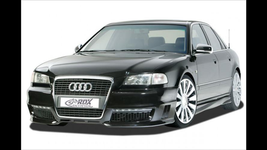 Aerodynamik-Kit von RDX Racedesign für alten Audi A8