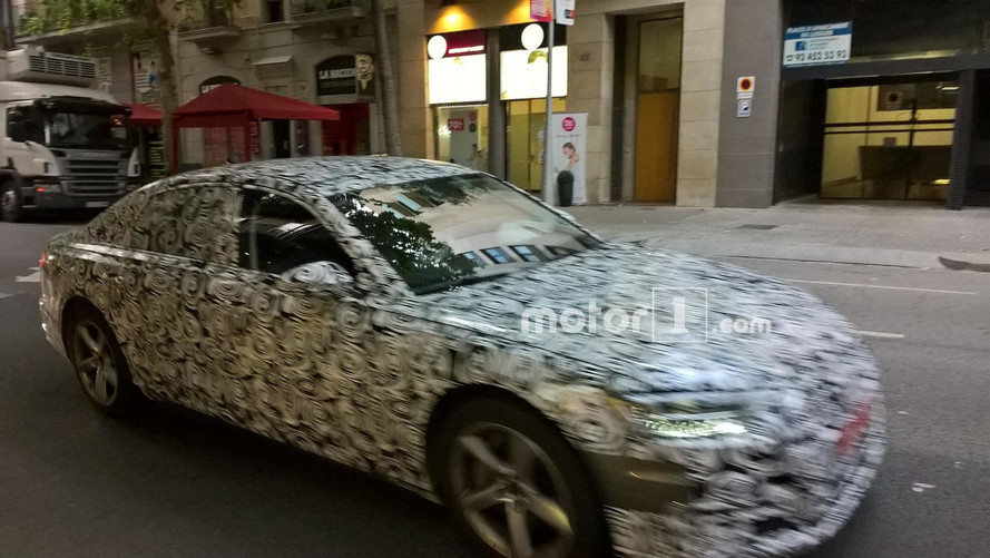 Audi A6 Prototype Spotted In Barcelona By Motor1.com Reader