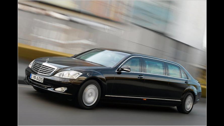 Mercedes S 600 Pullman Guard: Heute ein König