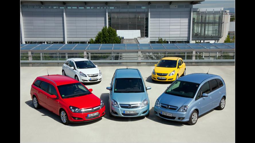 Fünf LPG-Modelle: Opel startet Autogas-Angebot