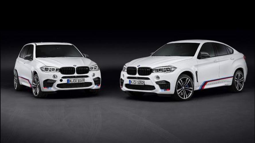 BMW X5 M e X6 M, sempre più cattive con M Performance Parts