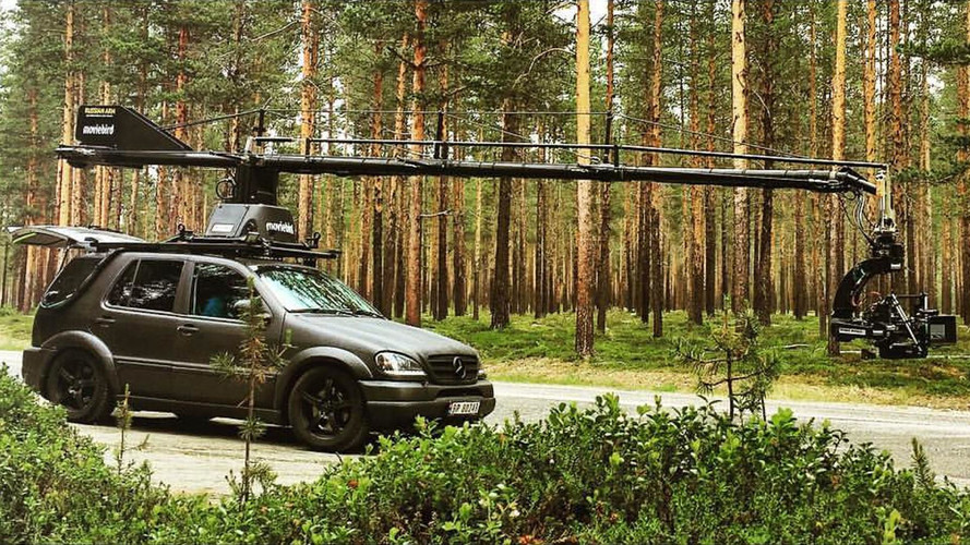 Watch This Mercedes-AMG ML55 Camera Car Pretend It's A WRC Racer