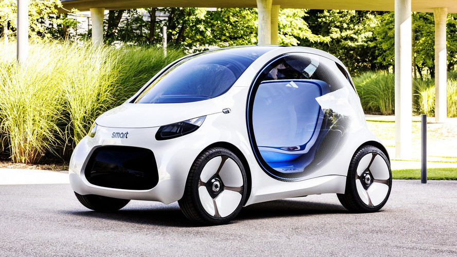 Car Sharing Gets Smart With New Vision EQ ForTwo Concept
