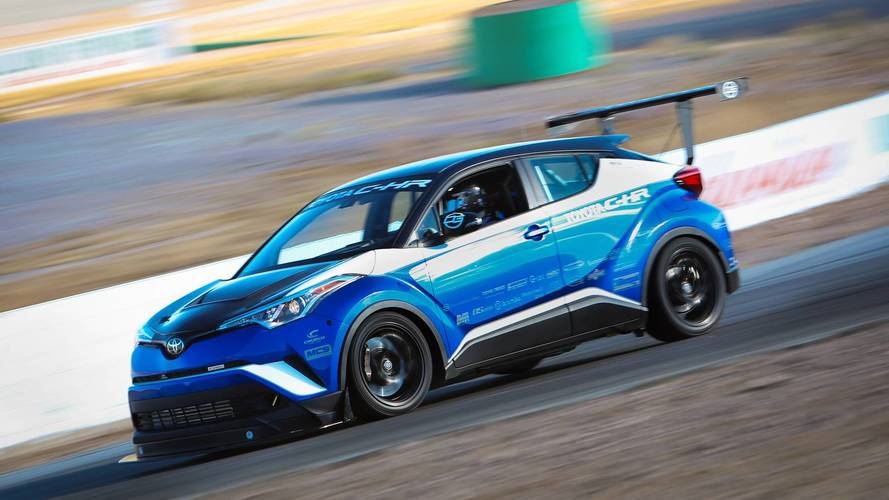 Tuned Toyota C-HR is the world's fastest crossover